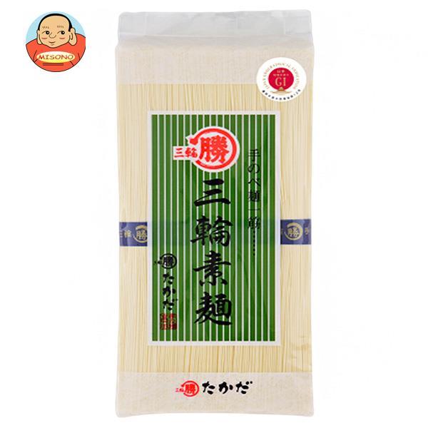 マル勝高田 三輪素麺 シマ 250g×20個入