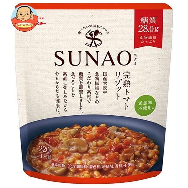 江崎グリコ SUNAO(スナオ) 完熟トマトリゾット 220g×5袋入