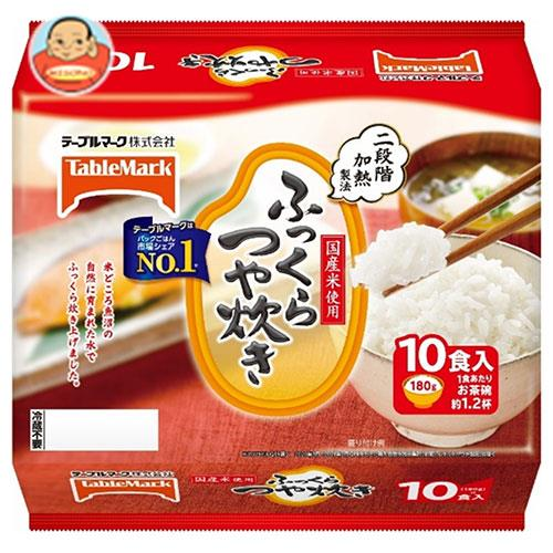 テーブルマーク ふっくらつや炊き 10食 (180g×10個)×4個入