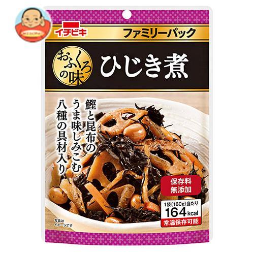 イチビキ おふくろの味 ファミリーパック ひじき煮 160g×10袋入