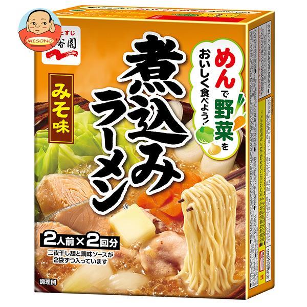 永谷園 煮込みラーメン みそ味 308g×6箱入