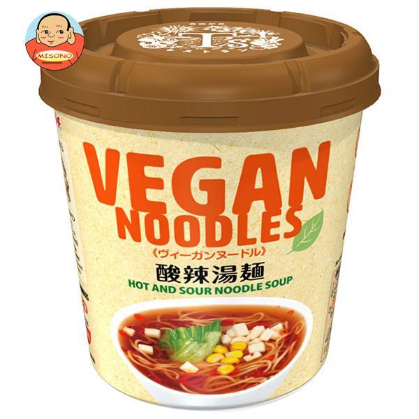 ヤマダイ ニュータッチ ヴィーガンヌードル 酸辣湯麺 56g×12個入