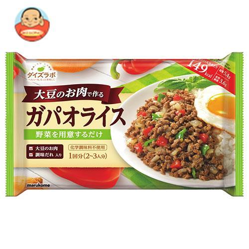 マルコメ ダイズラボ 大豆のお肉のガパオライス 158g(2~3人前)×20(5×4)袋入