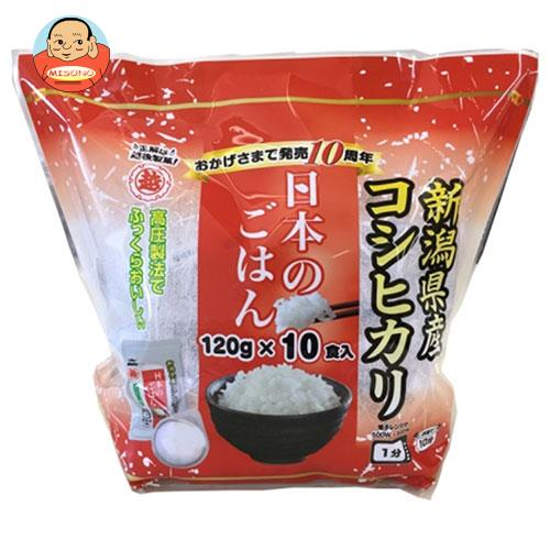 越後製菓 日本のごはん 1200g(120g×10食)×6袋入