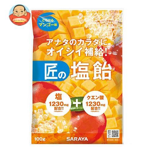 サラヤ 匠の塩飴 マンゴー味 100g×20本入
