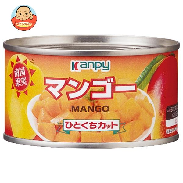 カンピー マンゴー ひとくちカット 225g缶×24個入