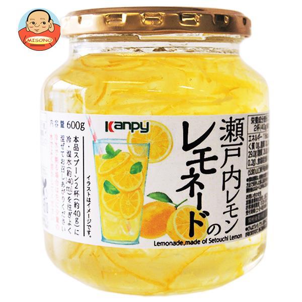 カンピー 瀬戸内レモンのレモネード 600g×12個入