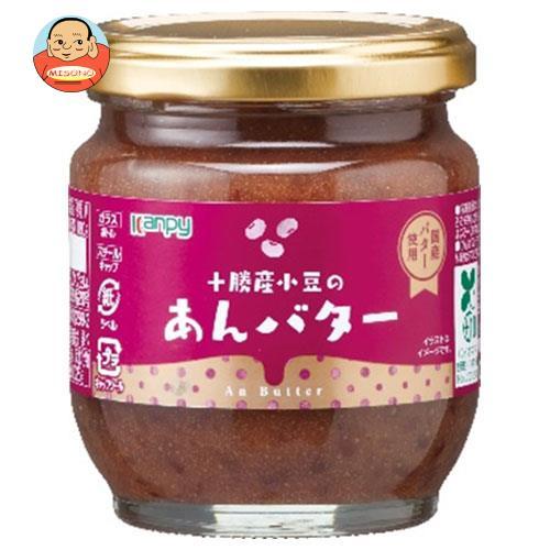 カンピー 十勝産 小豆のあんバター 180g瓶×12個入