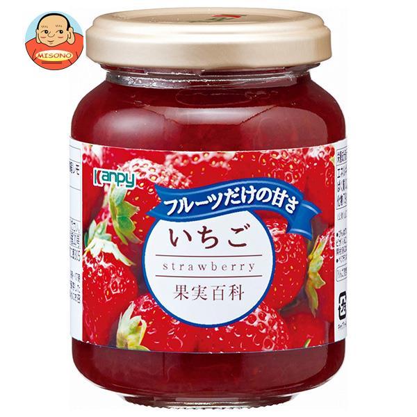 カンピー 果実百科いちご 190g瓶×12個入