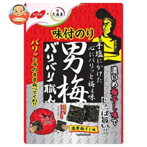 ノーベル製菓 バリバリ職人 男梅味 3g×5袋入