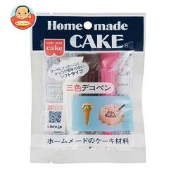 共立食品 三色デコペン(ソフトタイプ) 30g(10g×3本)×10袋入