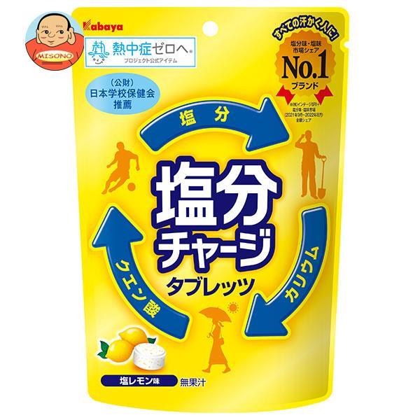 カバヤ 塩分チャージタブレッツ塩レモン 90g×6袋入