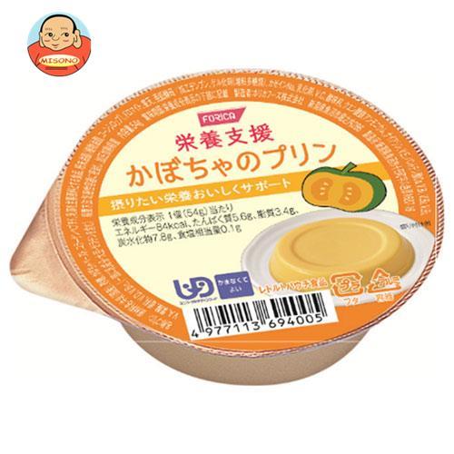 ホリカフーズ 栄養支援 かぼちゃのプリン 54g×12個入