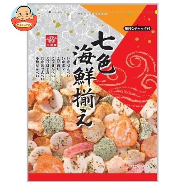 三河屋製菓 七色海鮮揃え 145g×10袋入