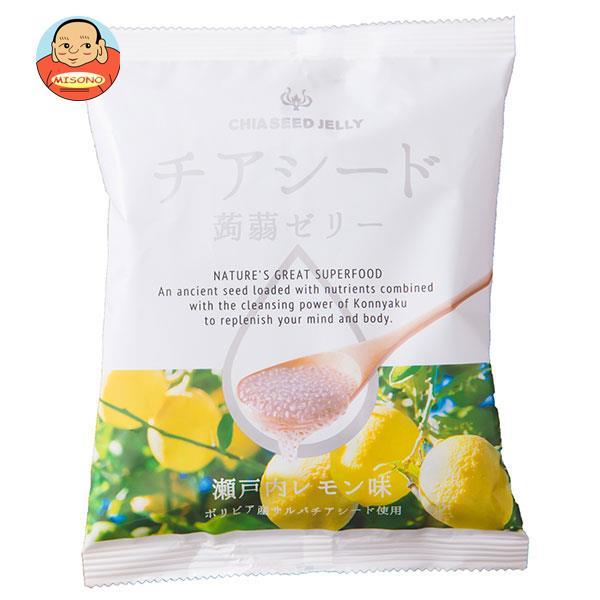 チアシード蒟蒻ゼリー 瀬戸内レモン味 10個×12袋入