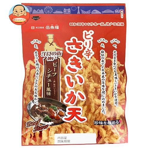 伍魚福 ピリ辛さきいか天 ビーフシチュー風味 66g×5袋入
