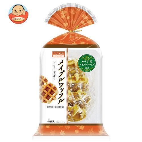 丸中製菓 メイプルワッフル 4個×6袋入