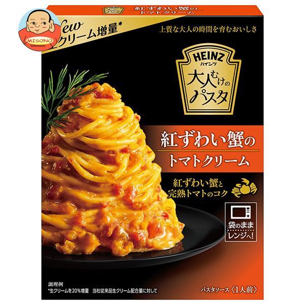 ハインツ 大人むけのパスタ 紅ずわい蟹のトマトクリーム 130g×10箱入