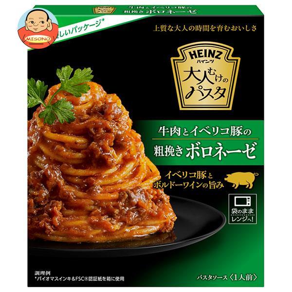 ハインツ 大人むけのパスタ 牛肉とイベリコ豚の粗挽きボロネーゼ 130g×10箱入