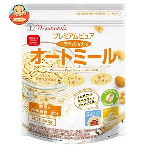 日本食品製造 日食 プレミアム ピュア トラディショナルオートミール 300g×4袋入