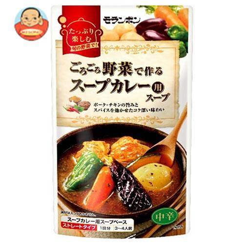 モランボン ごろごろ野菜で作る スープカレー用スープ 750g×10袋入