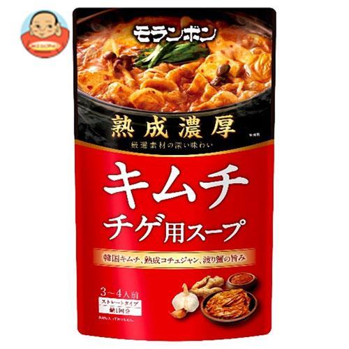 モランボン 熟成濃厚 キムチチゲ用スープ 750g×10袋入
