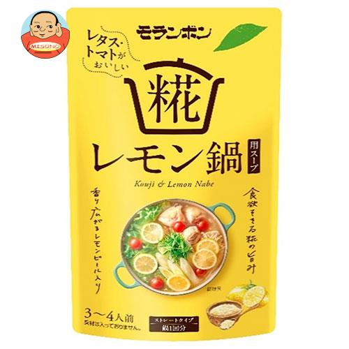 モランボン 糀レモン鍋用スープ 750g×10袋入