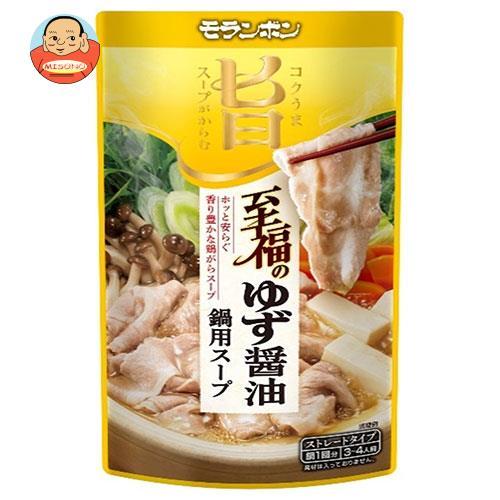モランボン コク旨スープがからむ 至福のゆず醤油鍋用スープ 750g×10袋入