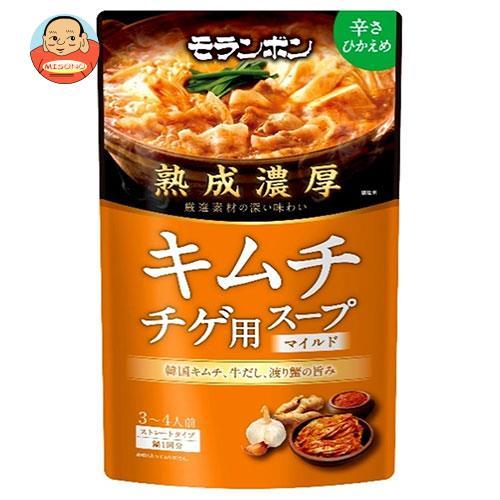 モランボン 熟成濃厚 キムチチゲ用スープ マイルド 750g×10袋入