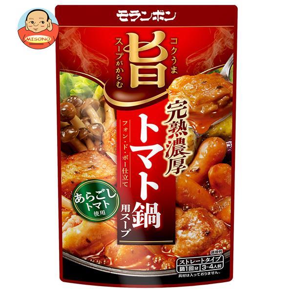 モランボン 完熟 トマト鍋スープ 750g×10袋入