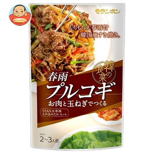 モランボン 韓の食菜 春雨プルコギ 140g×10袋入