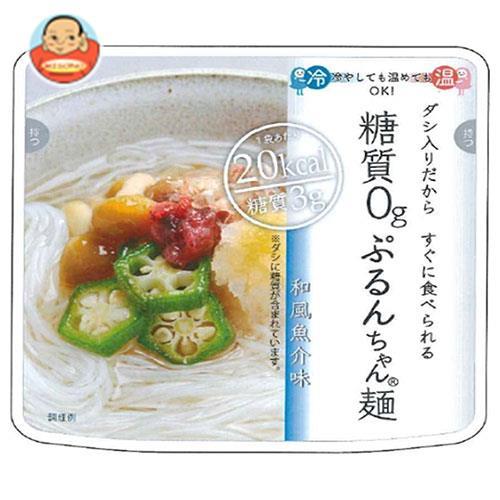 オーミケンシ 糖質0gぷるんちゃん麺 和風魚介味  200g×12箱入
