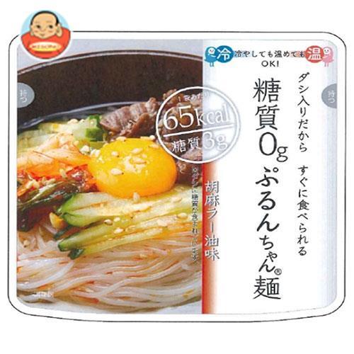 オーミケンシ 糖質0gぷるんちゃん麺 胡麻ラー油味 200g×12箱入