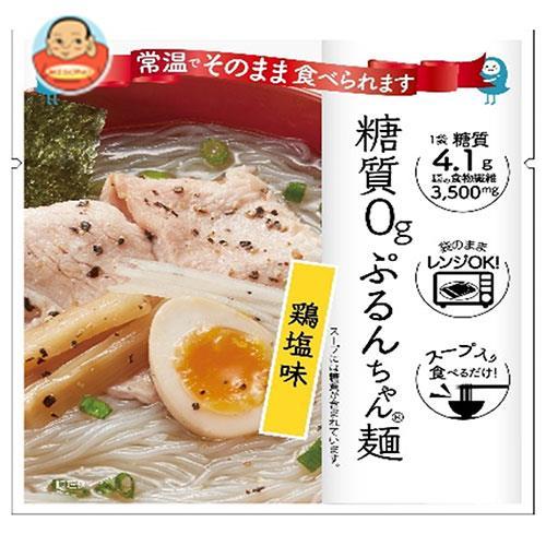 オーミケンシ 糖質0gぷるんちゃん麺 鶏塩味 200g×12箱入