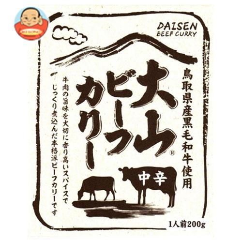 鳥取缶詰 大山 ビーフカリー 中辛 200g×10(5×2)個入
