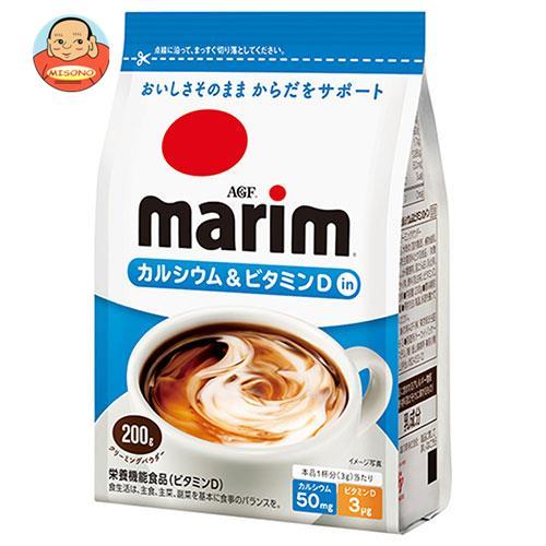 AGF マリーム カルシウム&ビタミンDイン 200g袋×12袋入