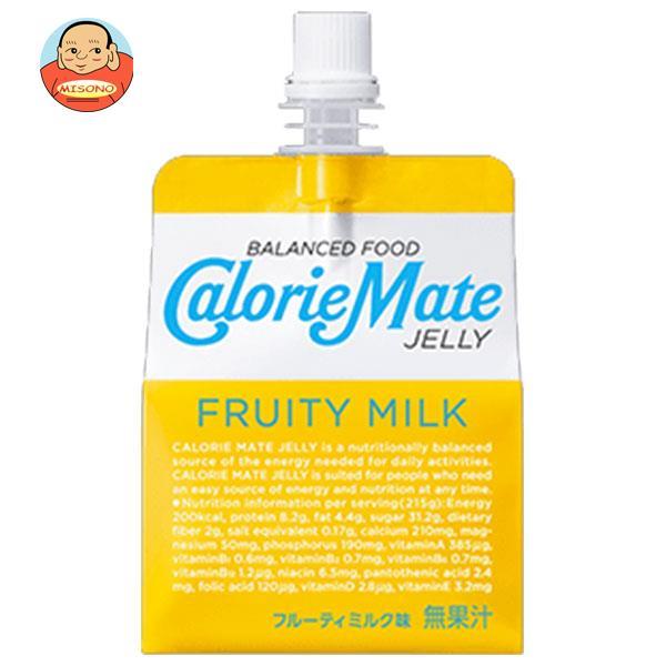 大塚製薬 カロリーメイトゼリー フルーティミルク味 215gパウチ×24本入
