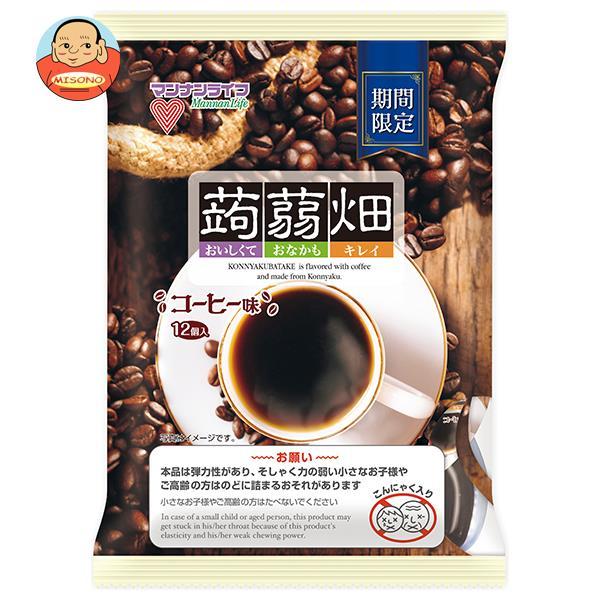 マンナンライフ 蒟蒻畑 コーヒー味 (25g×12個)×12袋入