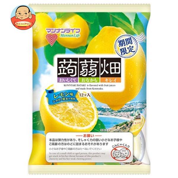 マンナンライフ 蒟蒻畑 レモン味 25g×12個×12袋入