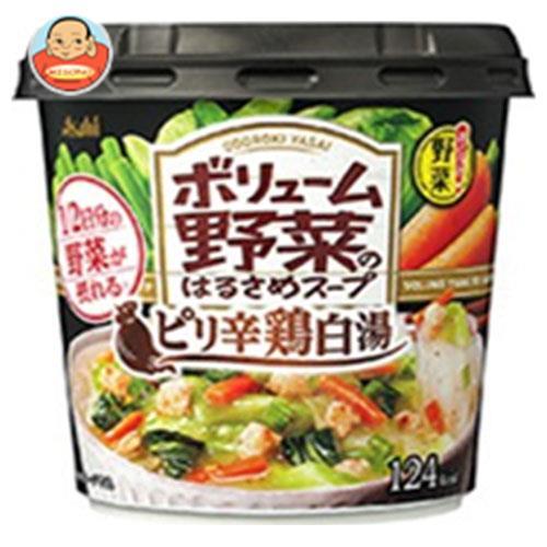 アサヒグループ食品 おどろき野菜 ボリューム野菜のはるさめスープ ピリ辛鶏白湯 35.1g×6個入