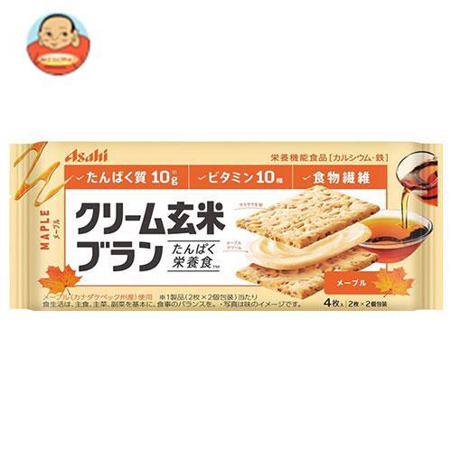 アサヒフード クリーム玄米ブラン メープル 72g×6袋入