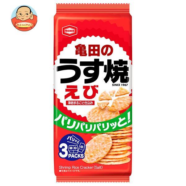 亀田製菓 えびうす焼 80g×12袋入