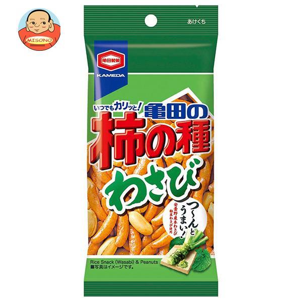 亀田製菓 亀田の柿の種 わさび 65g×10袋入
