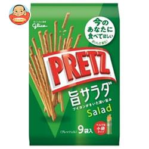 グリコ PRETZ(プリッツ)旨サラダ 9袋×6袋入