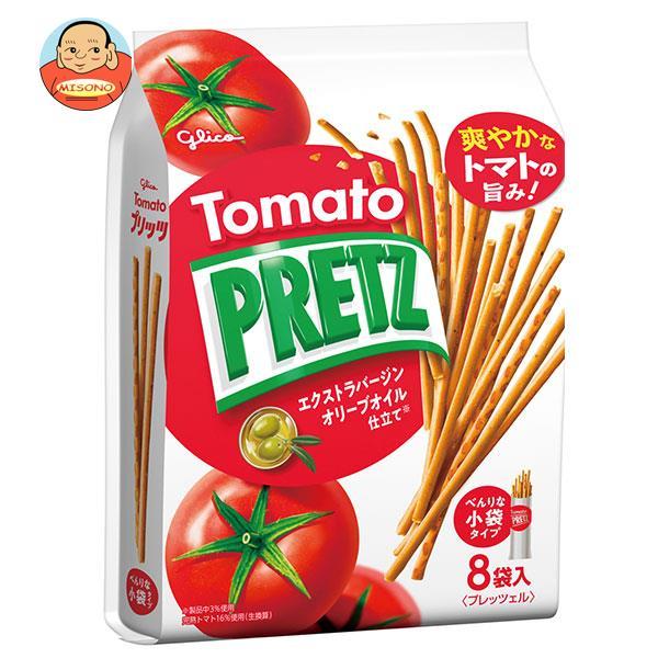 グリコ PRETZ(プリッツ)熟トマト 9袋×6袋入