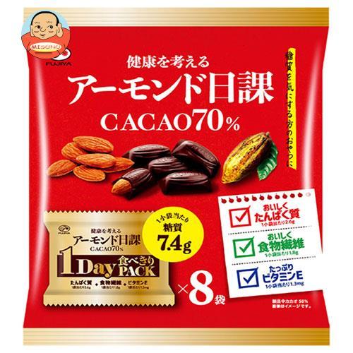 不二家 アーモンド日課(カカオ70%) 162g(8P)×12袋入