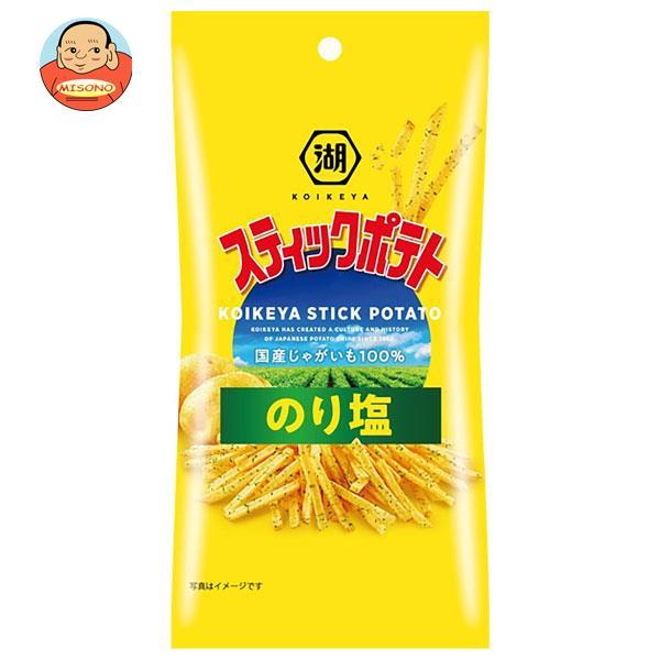コイケヤ コイケヤミニッツ スティックポテト のり塩 40g×12袋入