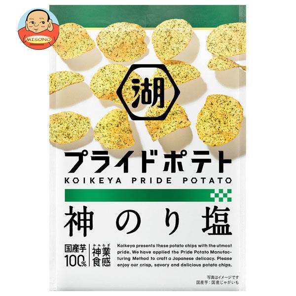 コイケヤ KOIKEYA PRIDE POTATO(コイケヤプライドポテト) 神のり塩 58g×12袋入