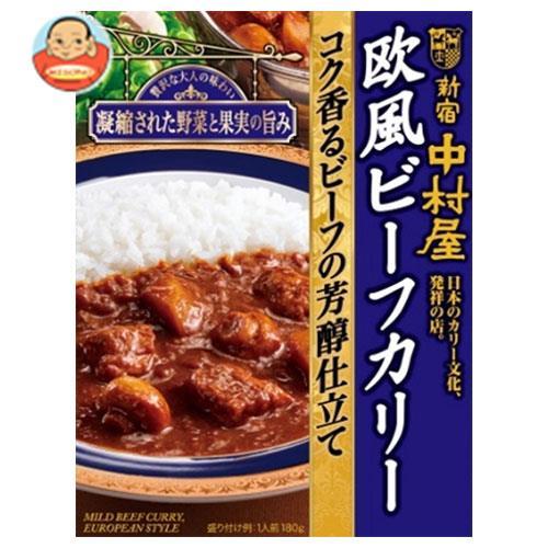中村屋 新宿中村屋 欧風ビーフカリー コク香るビーフの芳醇仕立て 180g×5箱入