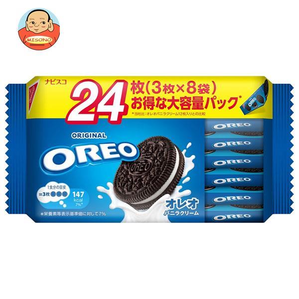 モンデリーズ・ジャパン オレオ ファミリーパック バニラクリーム 30枚(3枚×10袋)×12袋入